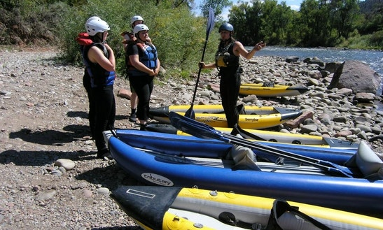 Single Kayak Rental In Glenwood Springs, Colorado