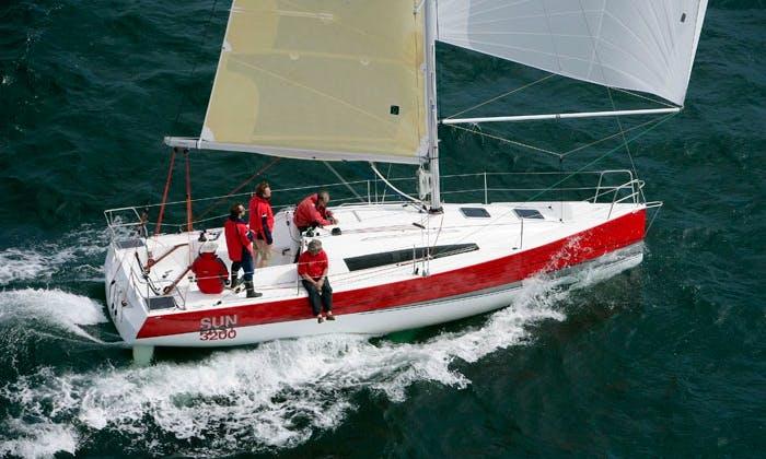 Cruising Monohull Sun Fast 3200 Charter In Nieuwpoort, Belgium