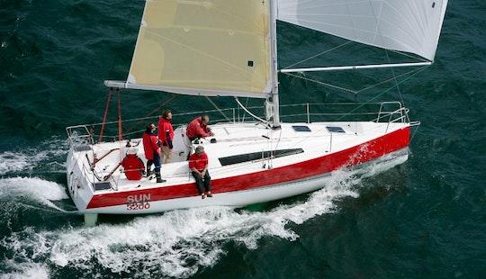 Cruising Monohull ''sun Fast 3200'' Charter In Nieuwpoort