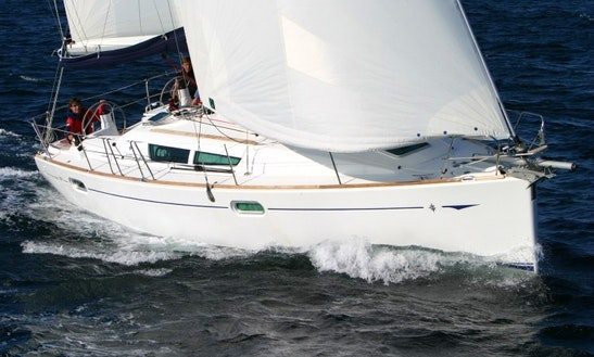 Luxury Cruising Monohull ''sun Odyssey 39i Performance'' Charter In Nieuwpoort