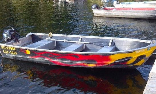 14' Jon Boat Rentals In Island Park, Idaho