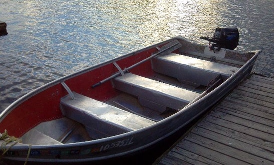 16' Motor Boat Rental In Island Park, Idaho