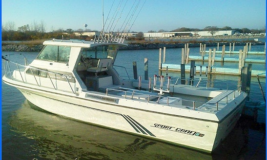 Private Sport Fishing Charter On Lake Erie