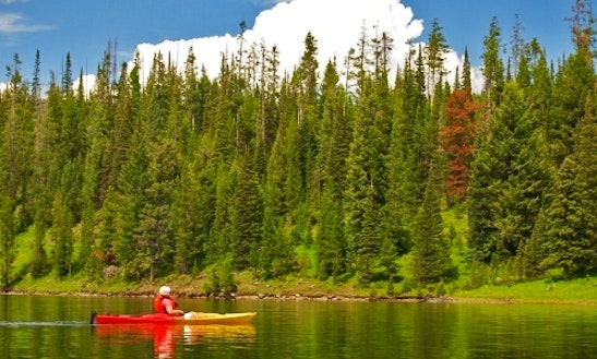 Sinlge Kayak Rental In West Yellowstone, Montana