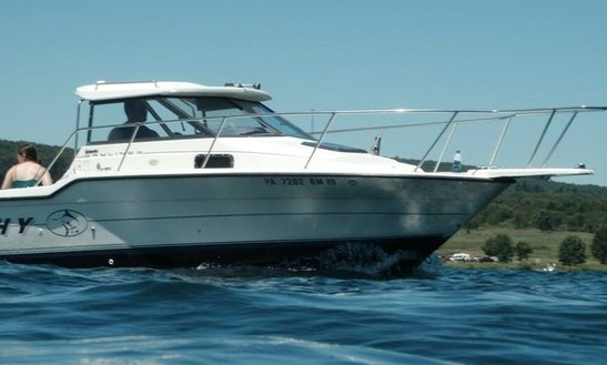 24ft Bayliner Trophy Sportfisherman Boat Charter In Vancouver, British Columbia