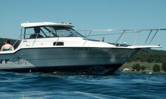 24ft Bayliner Trophy Sportfisherman Boat Charter In Vancouver, British Columbia