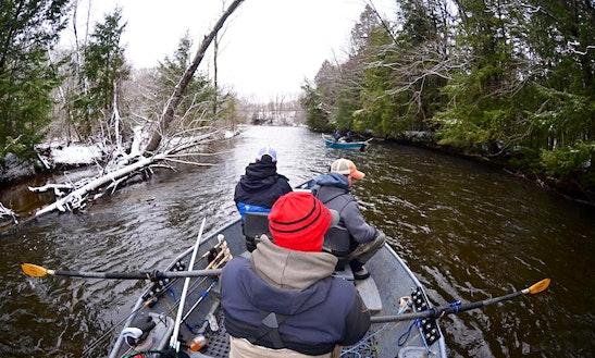 Drift Boat & Bank Trips In Oswego River