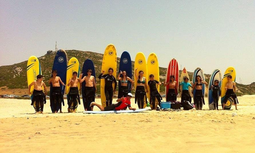 Surfing In Zahara de los Atunes