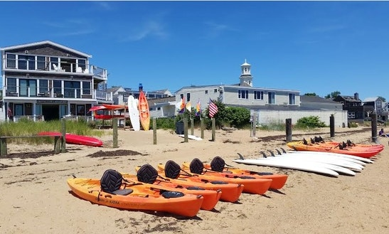 2 Person Sit On Top Kayak Rentals In Provincetown