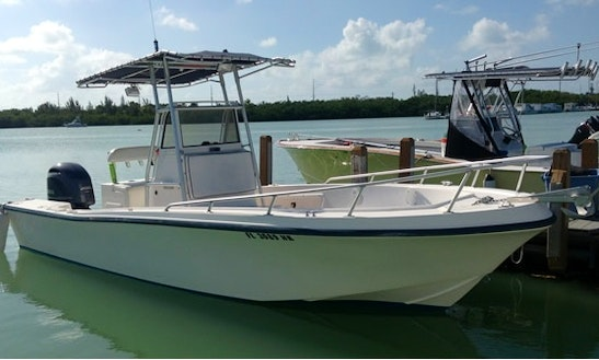 23ft Center Console Charter In Pinellas Park