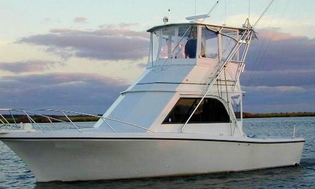 "34ft ""Michael Fitz"" Sport Fisherman Boat Charter in Point Pleasant Beach, New Jersey"