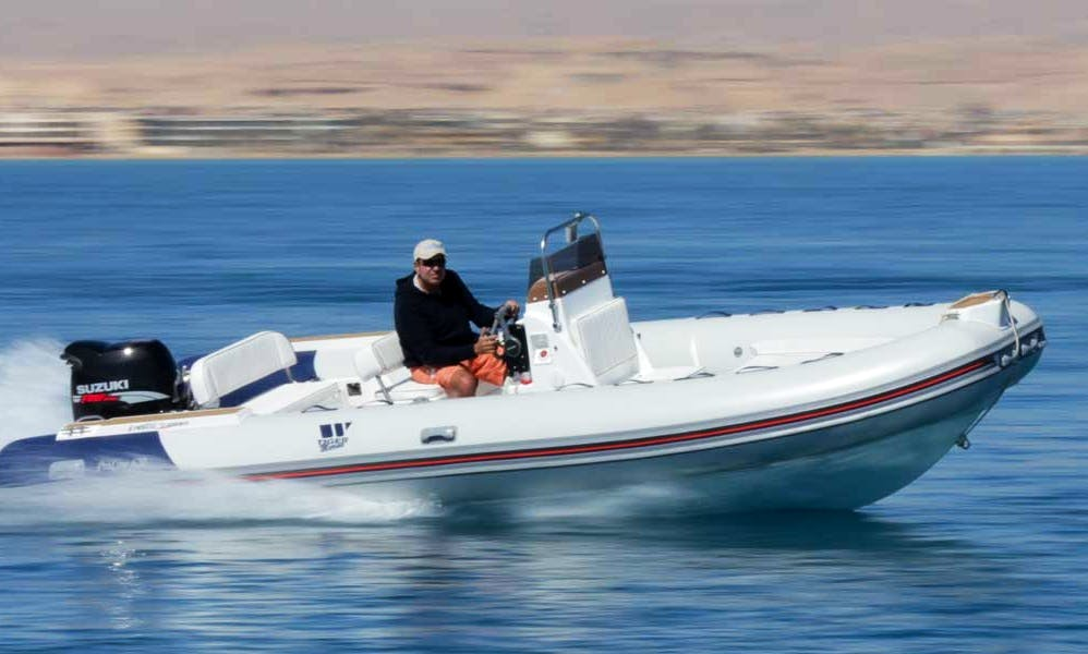20ft Tiger Marine 600DM RIB Rental in Palma de Mallorca, Spain