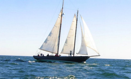 Classic '93 Schooner Charter To Nantucket