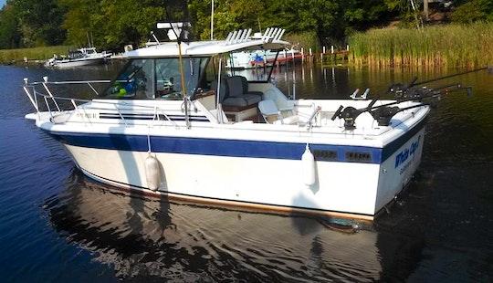 Charter A 30' Baha Fishing Boat In Port Clinton