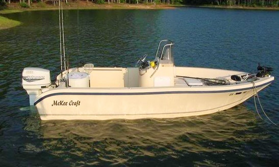 Hire A 20' Mckee Craft Fishing Boat W/ Captain