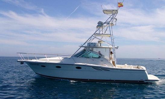 36' Tiara 3500 Fishing Charter In Tarragona Spain