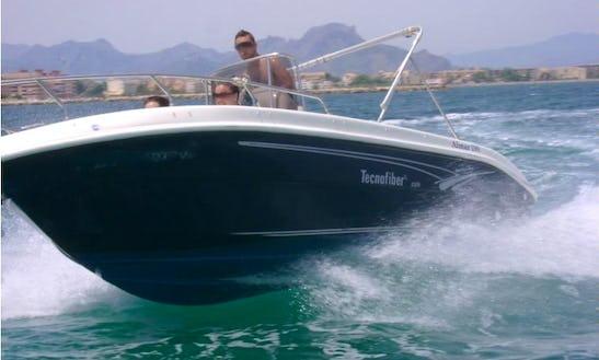 Rent Technofiber Almar 190 Boat In Dénia