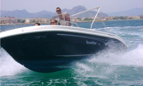 Rent Technofiber Almar 190 Boat In Dénia