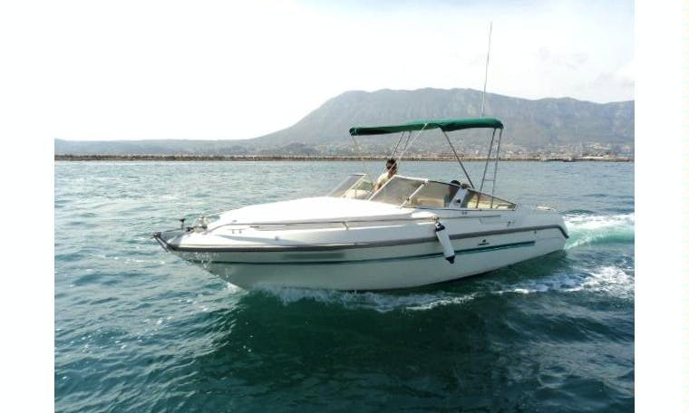 23' Cranchy 700 Speed Boat Rental In Dénia