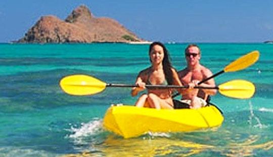 Guided Kayaking Adventure Tour In Honolulu