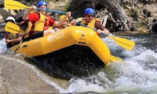 Lickety-blaster River Rafting Trip In Kernville, California