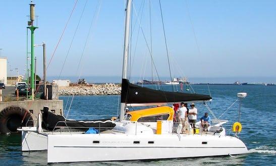 Scape 39 Sport Cruiser Beach Catamaran Charter In Pointe D'esny, Mauritius