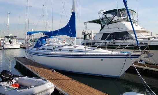 34' Hunter Cruising Monohull In Holiday, Florida