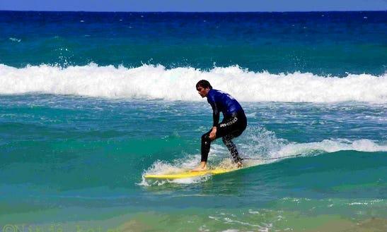 Surf Courses In Corralejo, Spain