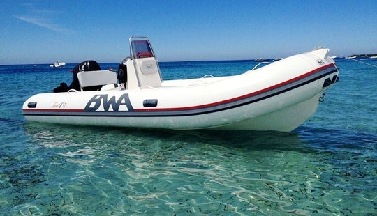 Bwa Sport 17' Rib Rental In Porto Colom, Mallorca, Islas Baleares, Spain