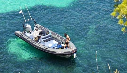 24ft Valiant Patrol 750 Rib Rental In Porto Colom, Mallorca, Islas Baleares, Spain