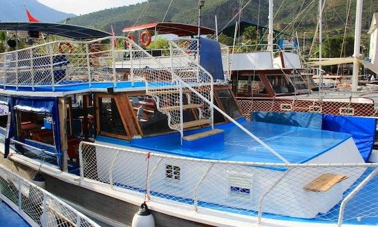 Day Trip Boat In Fethiye