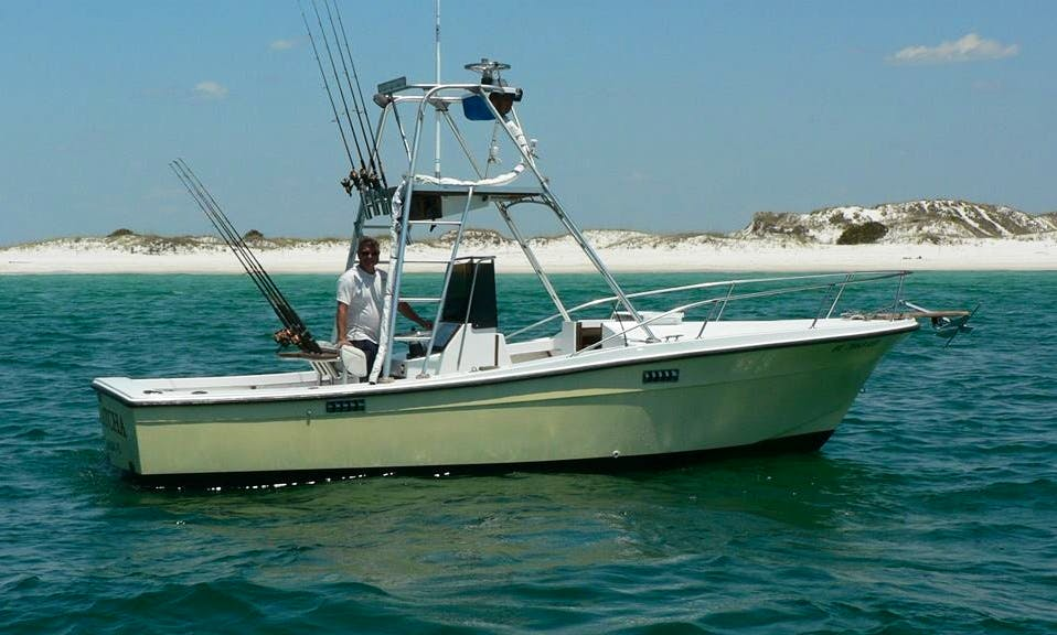 Enjoy Fishing with 22 foot Cape Horn Bay Series Boat in Panama City Beach