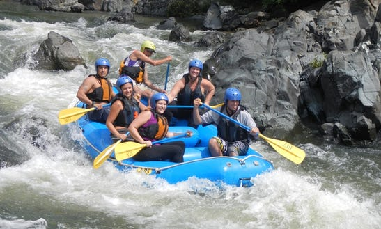 River Rafting In La Fortuna, Costa Rica