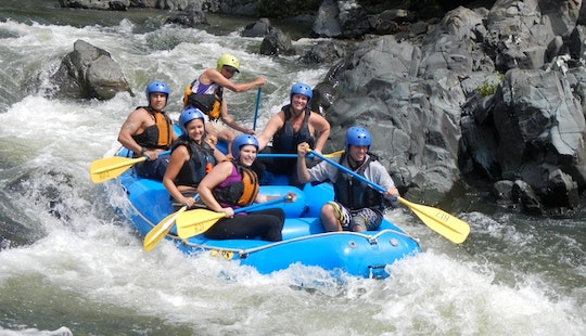 River Rafting In La Fortuna, Costa Rica