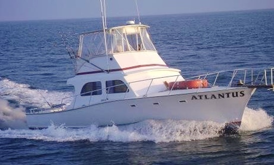 44ft Sportfisherman Boat Charter In Dennis, New Jersey