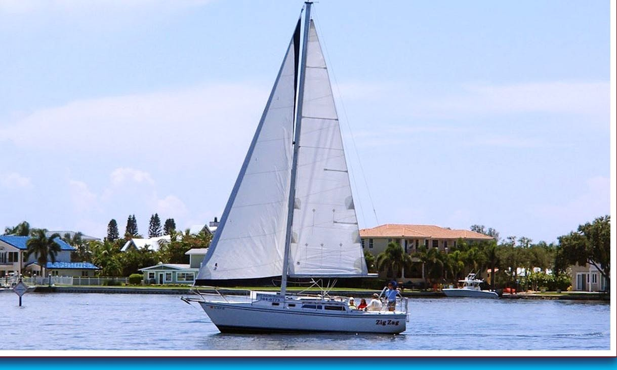 30' Catalina Yacht Charter in Tampa Bay