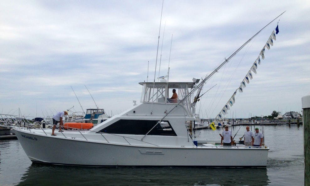 "53' ""Michael D"" Sport Fisherman In Rehoboth Beach, Delaware United States"