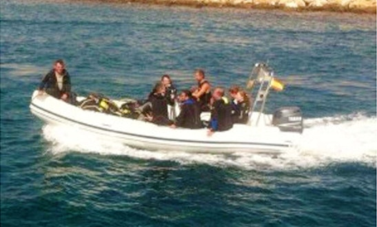 Guided Diving Boat Charter In Tarragona, Spain