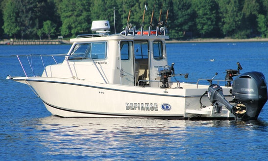 25ft Defiance Boat Sportfisherman Boat Charter In Vancouver, British Columbia