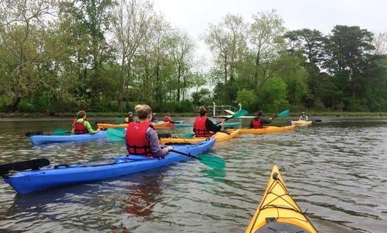 Single Kayak Rental In Chincoteague Island
