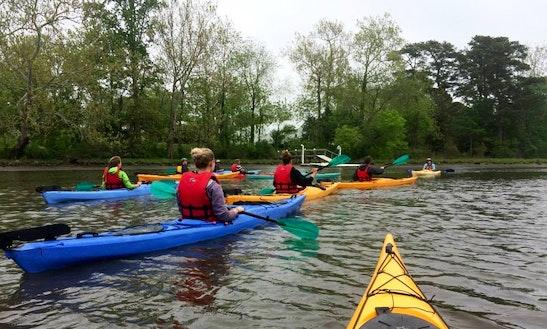 Single Kayak Rental In Chincoteague Island