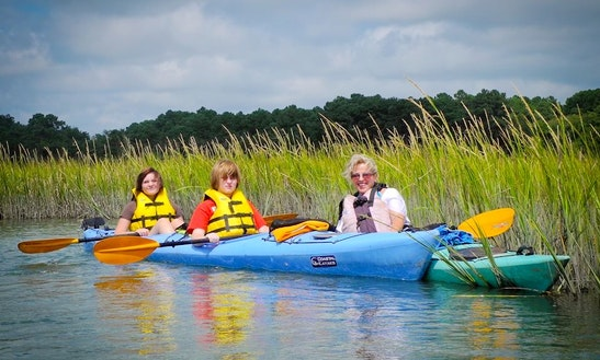 Double Kayak Rental In Chincoteague Island