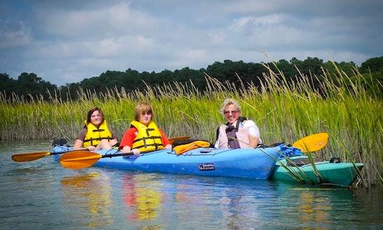 Double Kayak Rental In Chincoteague Island