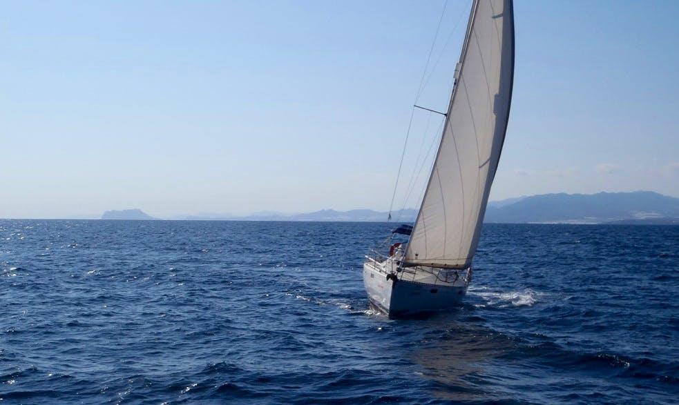 Charter Oceanis 390 Sailing Yacht In Spain
