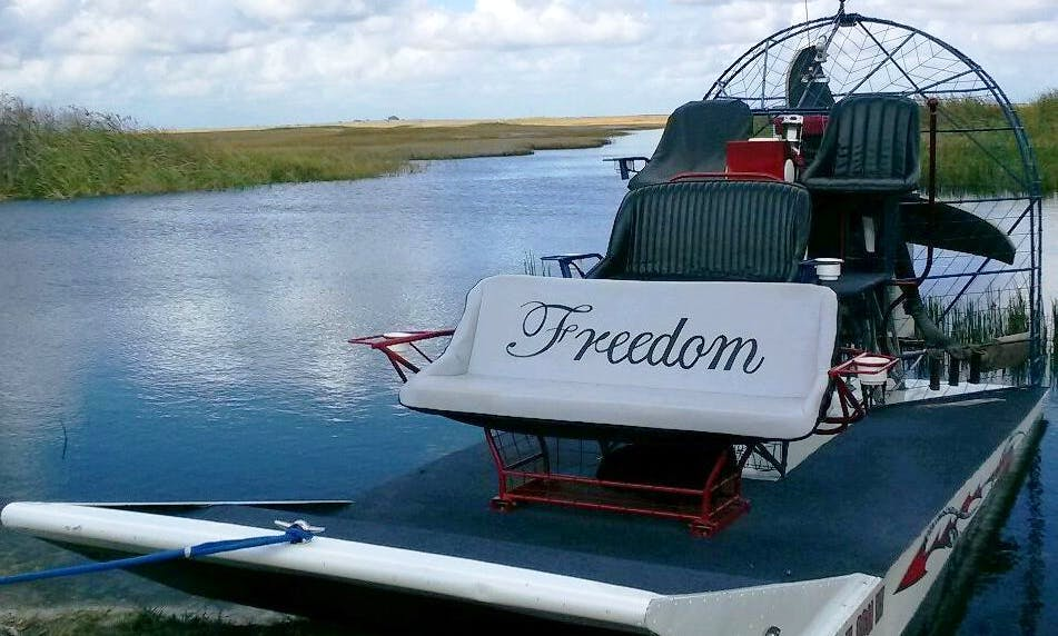 Private Airboat Tours in Miami