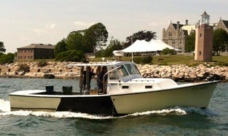 Charter 32ft Cudy Cabin Boat In Groton, Connecticut