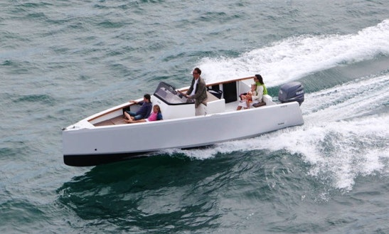 Center Console Luxurious ''mctec : Smartboat 23'' Charter In Perros-guirec