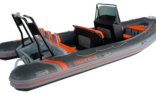 Rent 18' Rigid Inflatable Boat In Stockholm