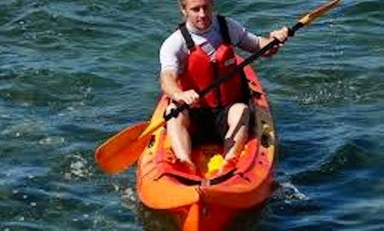 Belize Sea Kayaking In Placencia