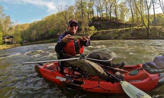 Kayak Fishing Charter In Bryson City